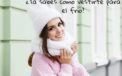 Consejos para protegerte del frío.